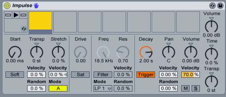 Impulse d'Ableton Live
