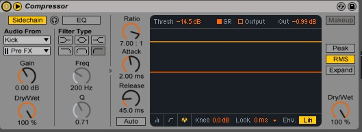 La compression en SideChain